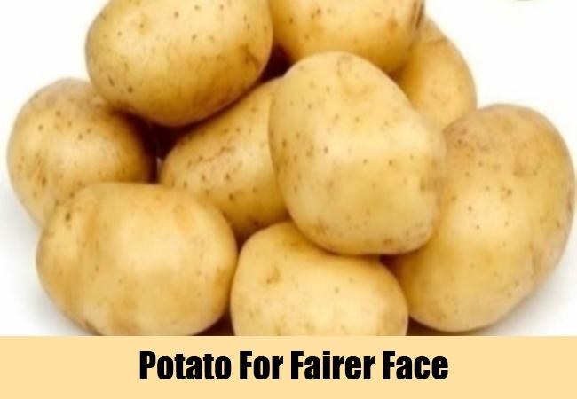 Potato For Fairer Face