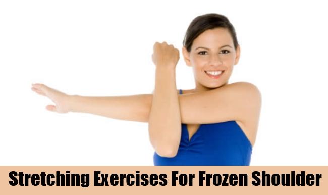 Stretching Exercises For Frozen Shoulder