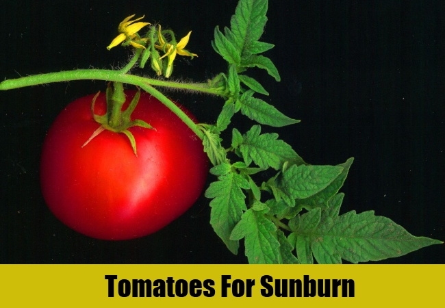 Tomatoes For Sunburn