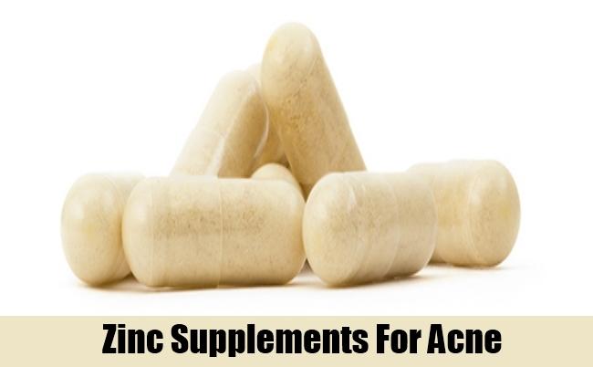 Zinc Supplements For Acne