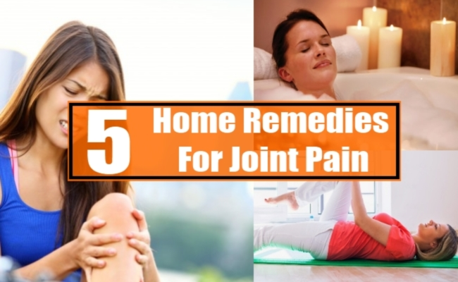 5 Home Remedies For Joint Pain