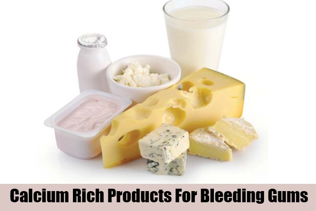 Calcium Rich Products For Bleeding Gums