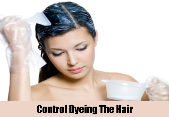 Control Dyeing The Hair