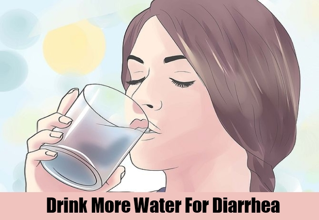 Drink More Water For Diarrhea