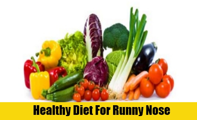 Healthy Diet For Runny Nose