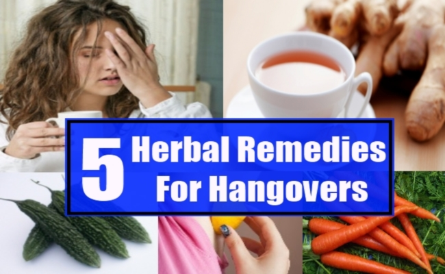 Herbal Remedies For Hangovers