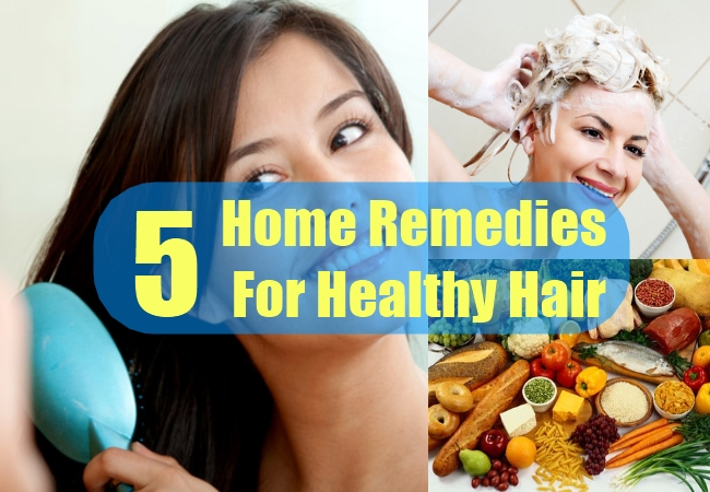 Home Remedies For Healthy Hair