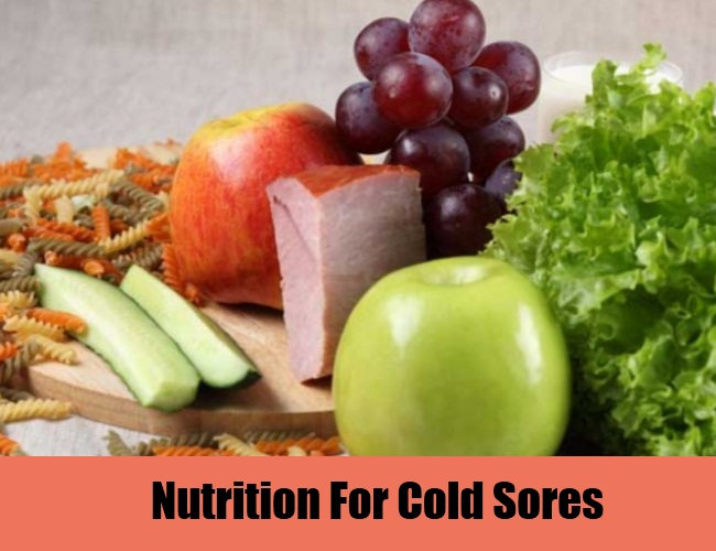 Nutrition For Cold Sores