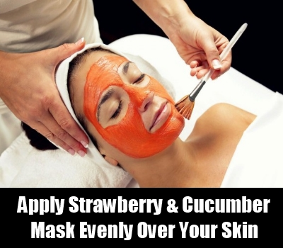 Strawberry And Cucumber Mask