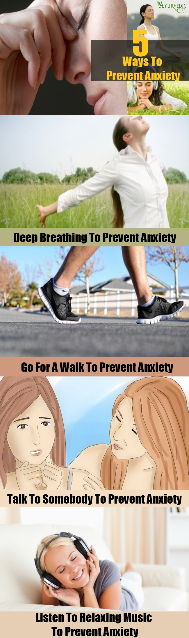 Various Ways To Prevent Anxiety