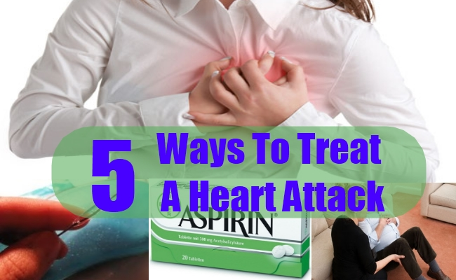 Ways To Treat A Heart Attack