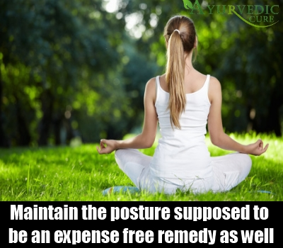 Maintain The Posture