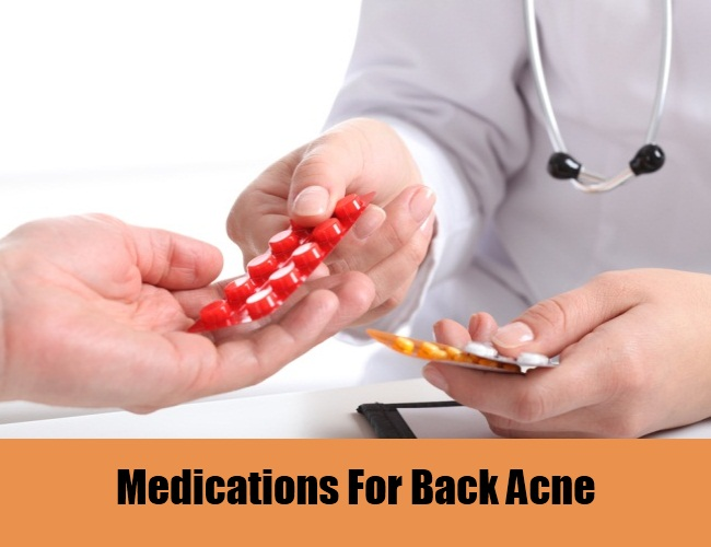 Medications For Back Acne