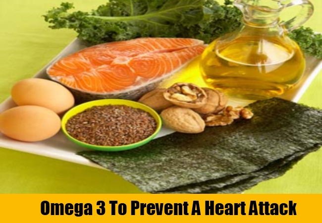 Omega 3 To Prevent A Heart Attack