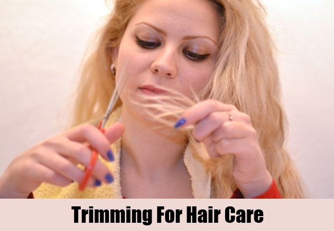 Trimming For Hair Care