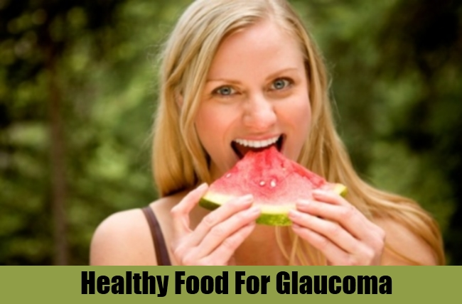 Healthy Food For Glaucoma
