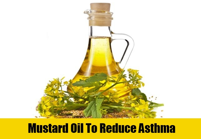 Mustard Oil To Reduce Asthma