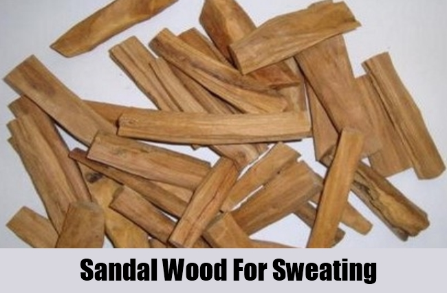Sandal Wood For Sweating