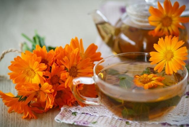 Intake Calendula Tea Everyday