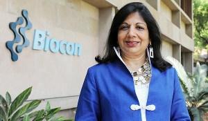 Kiran Mazumdar-Shaw, Managing Director and Chairperson of Biocon