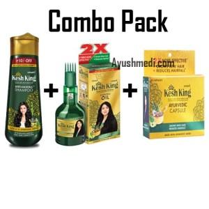 kesh king hair care combo pack