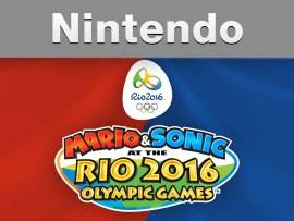 Nintendo - Mario & Sonic at the Rio 2016 Olympic Games (E3 2015 Trailer)