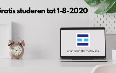 Onderwijs actie verlengd tot 1-8-2020