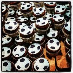 World Cup Google Soccer Cupcakes