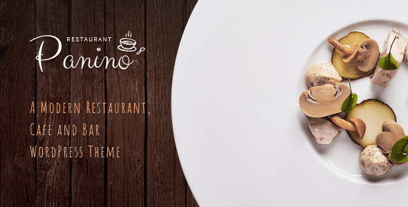 Panino – A Modern Restaurant and Cafe WordPress Theme