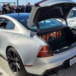 Polestar Test Drive At South OC Cars and Coffee