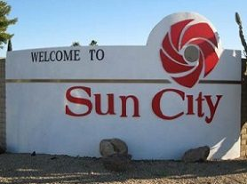 Sun City Arizona sign.