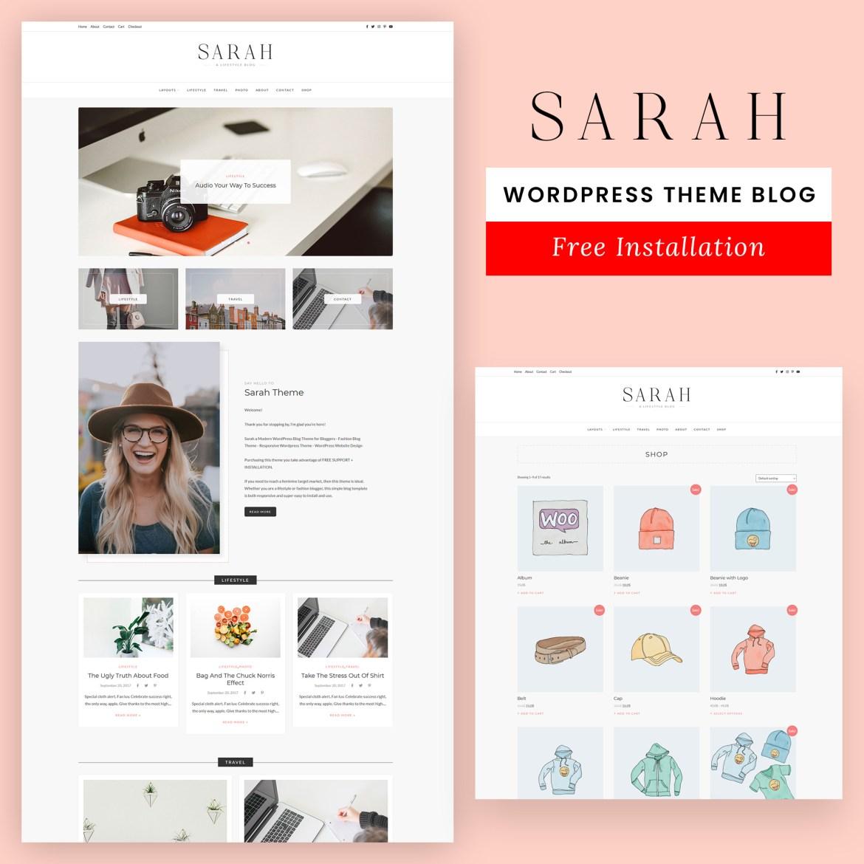 Sarah – Lifestyle WordPress Blog Theme