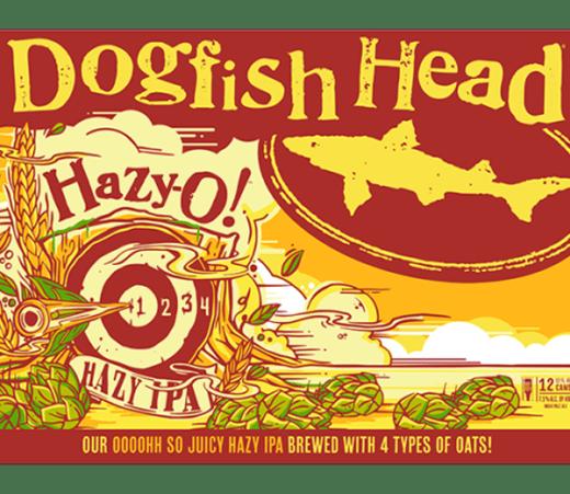DOGFISH HEAD HAZY-O HAZY IPA
