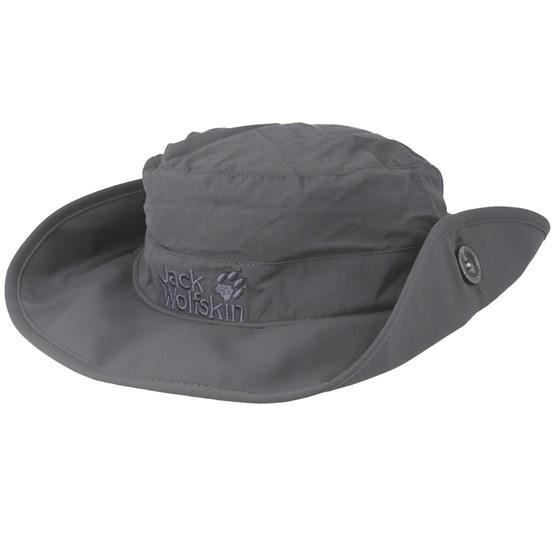Supplex Mesh Dark Steel Bucket Jack Wolfskin Hats Hatstoreworld Com