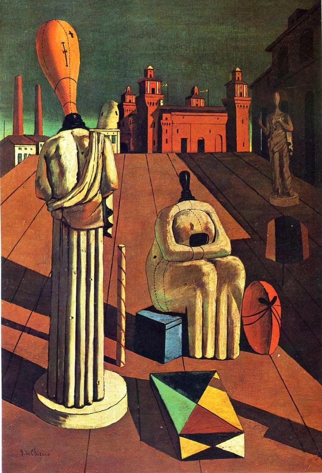 The Disquieting Muses Giorgio De Chirico Artwork On USEUM