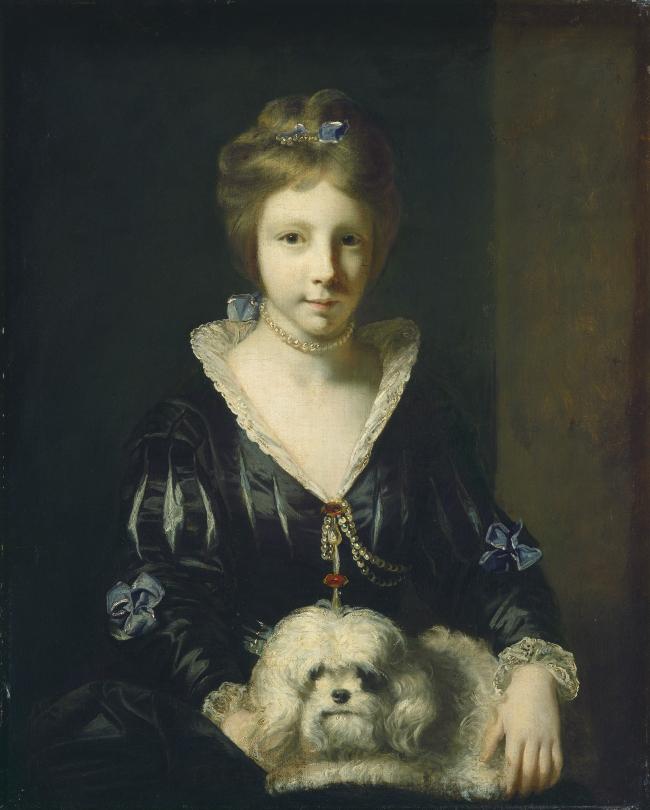 Miss Beatrix Lister Sir Joshua Reynolds Artwork On USEUM