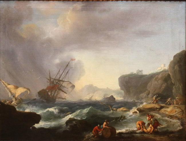 The Storm Claude Joseph Vernet Artwork On USEUM