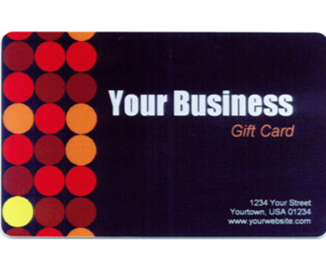 Part Of Custom Gift Cards