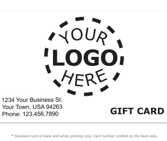 Alternate Image For Gift Card Design  Logo Card