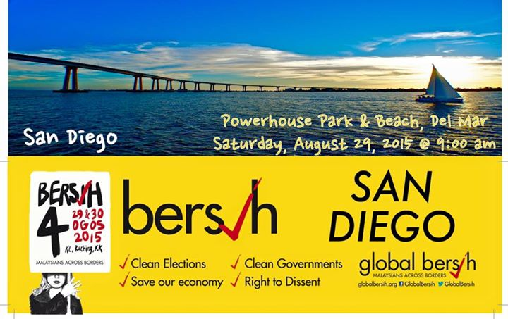 Image Credit: San Francisco Bay Area Bersih 4 Gathering
