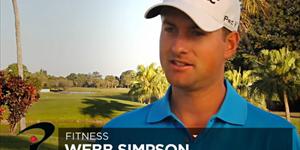 Webb Simpson sur les Fitness