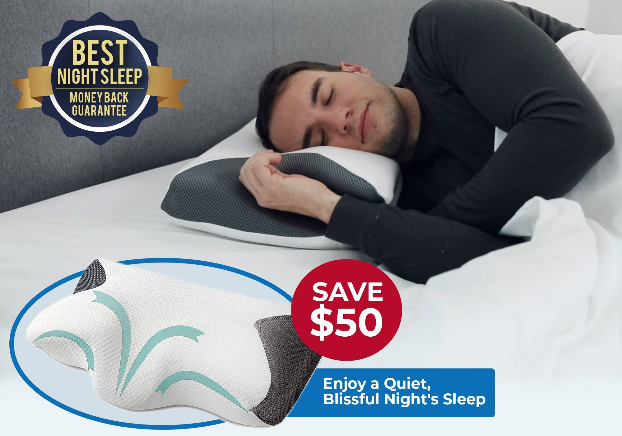 contour snorex pillow as seen on tv