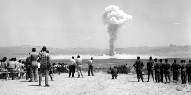 A US media report that the Trump administration has discussed conducting a US nuclear test.