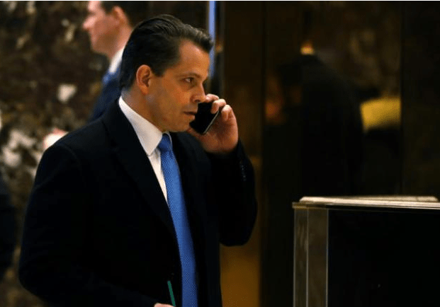 LOL @ The Mooch. Anthony Scaramucci was President Trump's communications director for 11 days