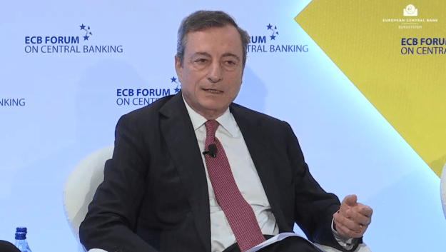 Draghi in Portugal