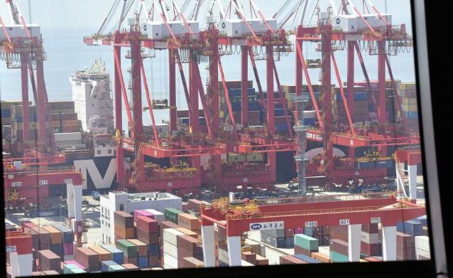 Via the folks at global logistics information site Loadstar: