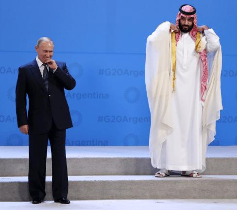 Prince Abdulaziz bin Salman, King Salman's son, is the Saudi energy minister