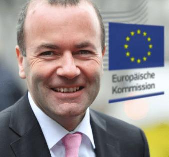 German EU parliamentarian Manfred Weber Europe