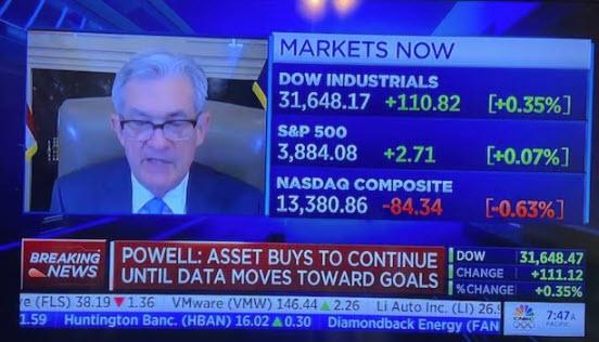 Fed's Powell testifies