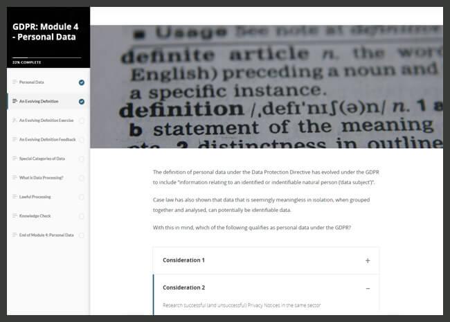 GDPR Action & Implementation Screenshot 5